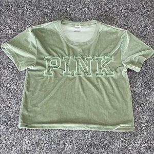 PINK Victoria's Secret Velvet Top